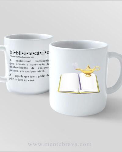 Caneca Dicionário Biblio s.m. MENTEBRAVA